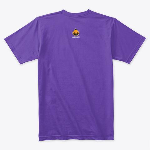 Drawlloween Logo Purple Rush T-Shirt Back