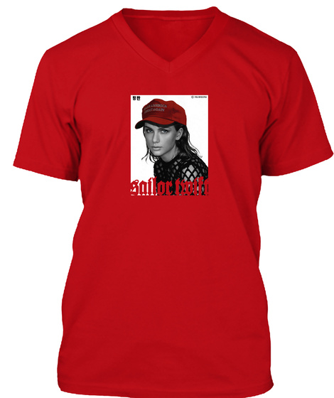 Our Girl   Maga Red T-Shirt Front