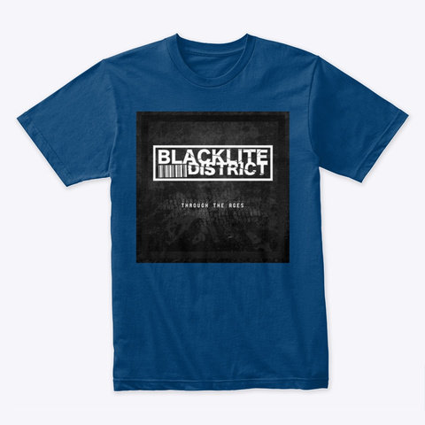 Blacklite District: Through The Ages Art Cool Blue T-Shirt Front