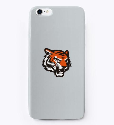 Bass Tiger Phone Cases Light Grey T-Shirt Front