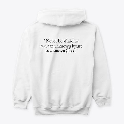 Known God White T-Shirt Back