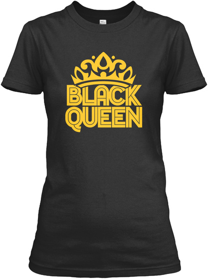 Black Queen Black T-Shirt Front