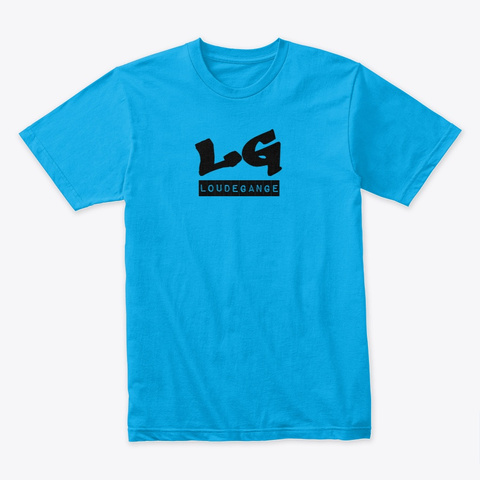 Loudegange Turquoise T-Shirt Front