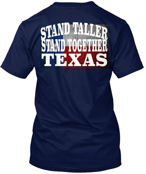 Panhandle Strong Tees Navy T-Shirt Back