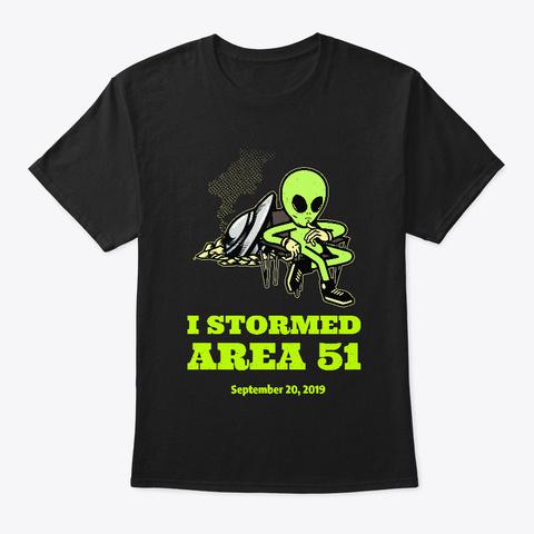 Area 51 Men's T Shirt Black T-Shirt Front