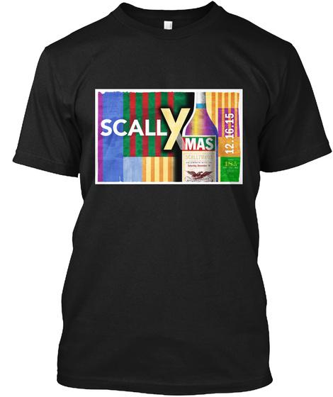 Scally Mas Isa 12.16.15 Black T-Shirt Front