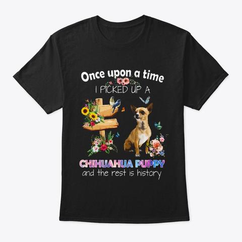 Chihuahua Puppy T Shirt 15 Ba Tr Idm Black T-Shirt Front