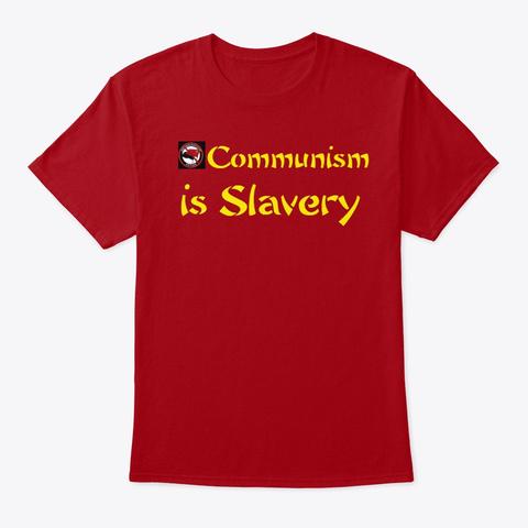 Communism Deep Red Kaos Front