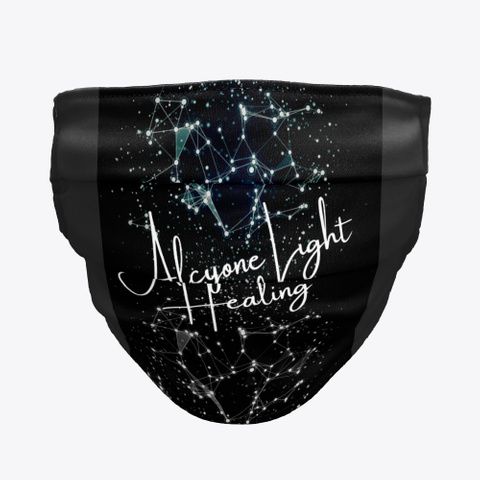 Alcyone Light Healing  Black T-Shirt Front