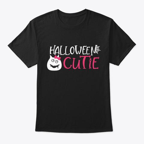 Halloween Cutie Costume Black T-Shirt Front