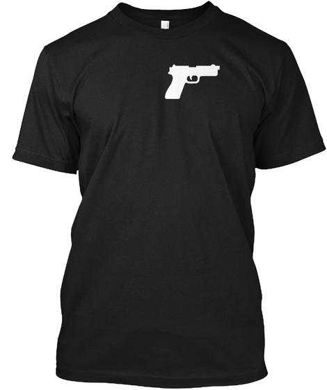 Take Aim Black T-Shirt Front