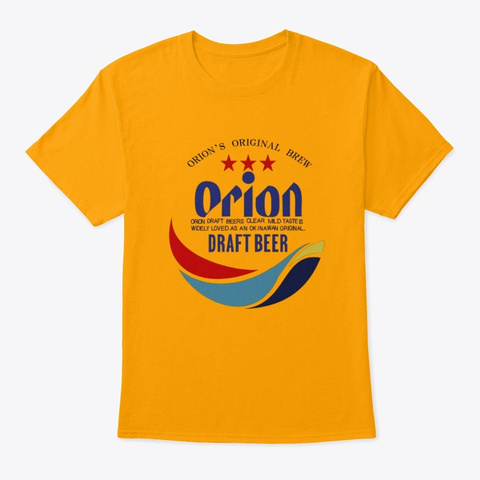 orion beer t shirt