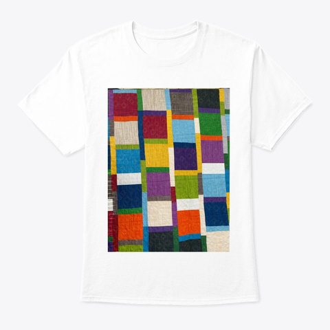 Hip To Be Square White T-Shirt Front