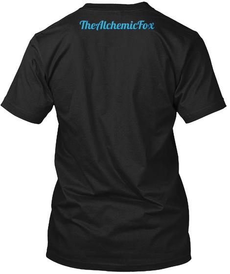 Thealchemicfox Black T-Shirt Back
