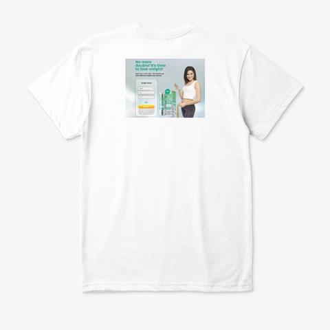 Keto Guru White T-Shirt Back