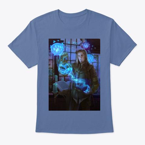 Tnb Hunter Gear Denim Blue T-Shirt Front