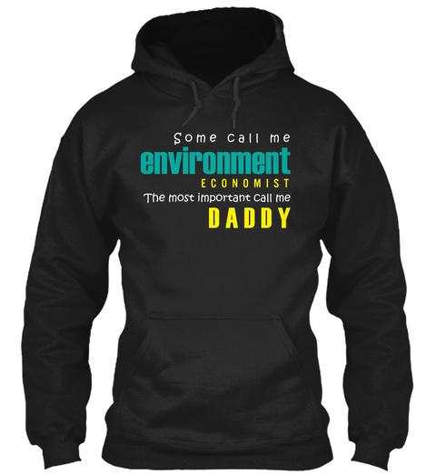Environmental Economist T Shirt  Black T-Shirt Front