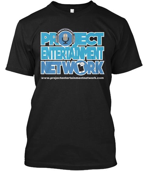 Project Entertainment Network Black Camiseta Front