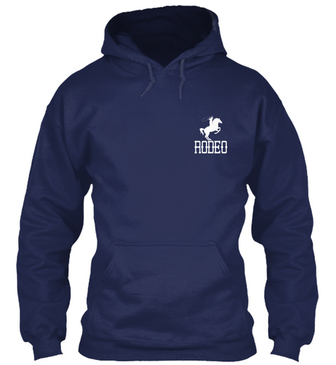 Rodeo Navy Sweatshirt Front
