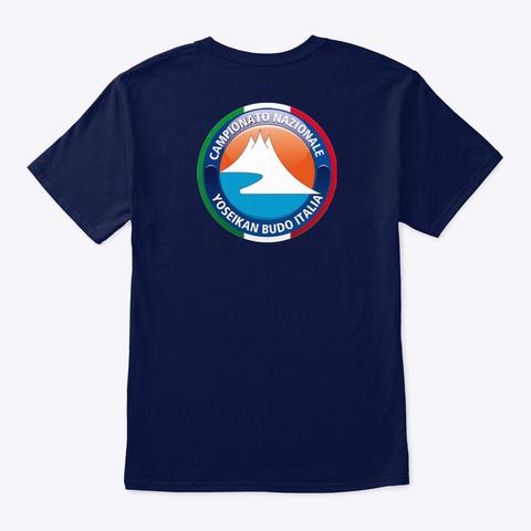 Yb Italian National Competition   Dark  Navy T-Shirt Back