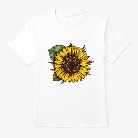 Flower Children Sunshine Costume White T-Shirt Front