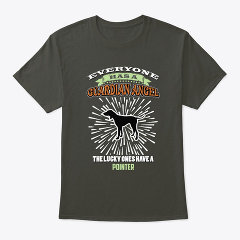 The Lucky One Have Pointer Smoke Gray T-Shirt Front