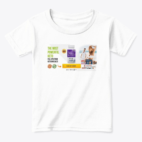 Ultra Keto X Burn Price White  T-Shirt Front