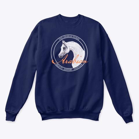 Arabian   Illustration Navy  T-Shirt Front