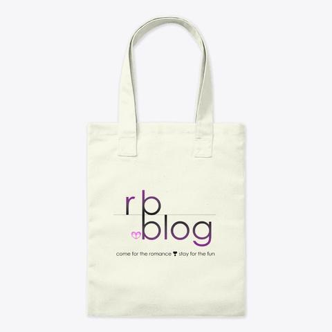 Rb.Blog Logo Merch (Light) Natural T-Shirt Front