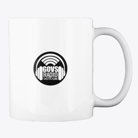Governor's Comedy Club  / Gov's Radio  White T-Shirt Back