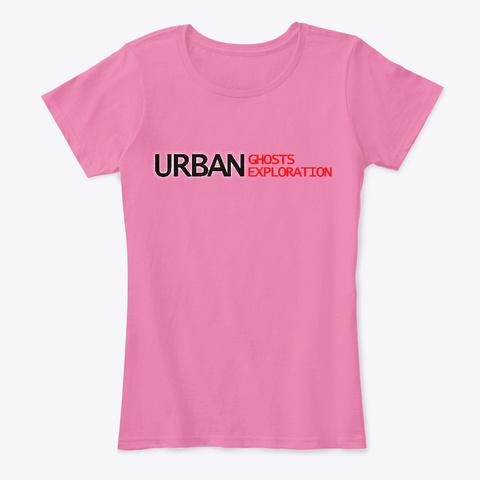 Ugue Womans Comfort Tee True Pink T-Shirt Front