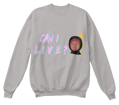 Can I Live? Join The Movement @Dinnertabledoc Light Steel  T-Shirt Front