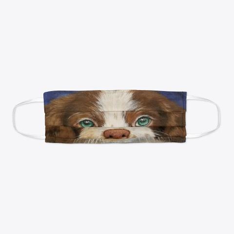 Dog Face Mask Standard T-Shirt Flat