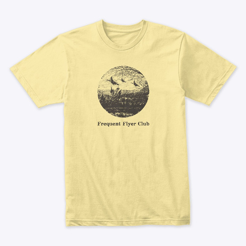 Frequent Flyer Witches Banana Cream T-Shirt Front