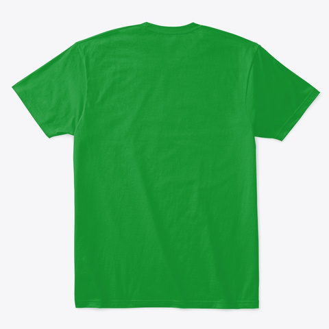 Gimme Kissmas Merch! Kelly Green T-Shirt Back