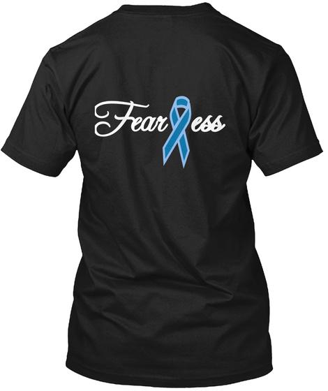 Ess Fear Black T-Shirt Back