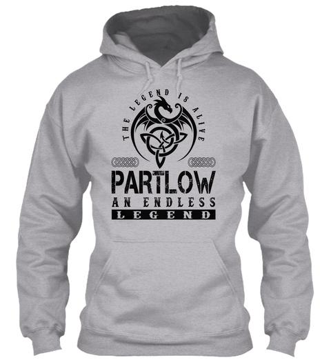Partlow   Legends Alive Sport Grey T-Shirt Front