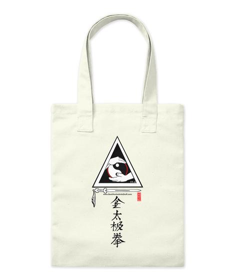 Tai Chi Energy Tote Natural Tote Bag Front