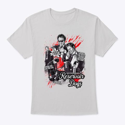Reservoir Dogs Crime Comic  Light Steel T-Shirt Front