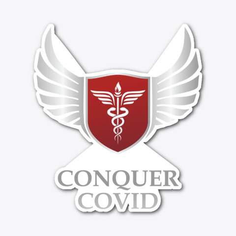 Conquer Covid Gear Standard T-Shirt Front