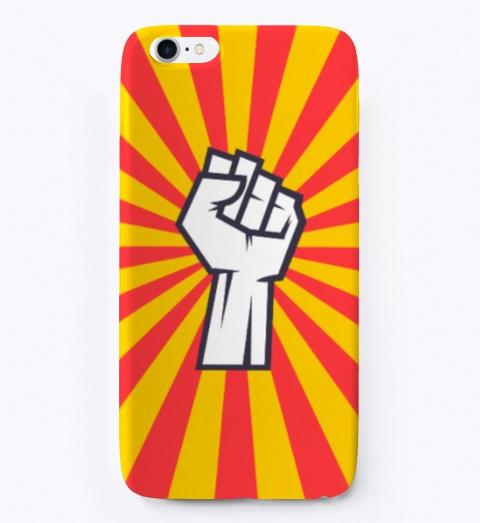 Revolution Phone Case For I Phone Standard T-Shirt Front