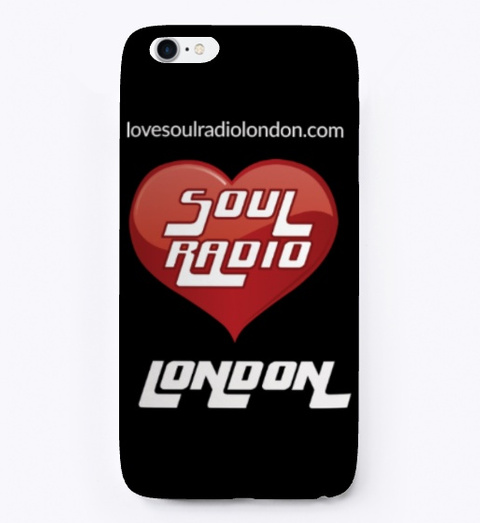 Love Soul Radio London Black T-Shirt Front