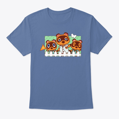 tom nook shirts new horizons merch