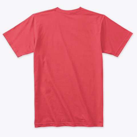A New Century Of Soul  Knockout Vintage Red T-Shirt Back