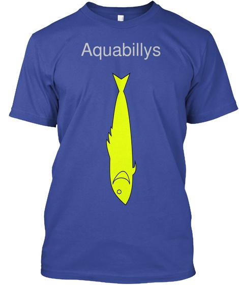 Aquabillys Deep Royal Kaos Front