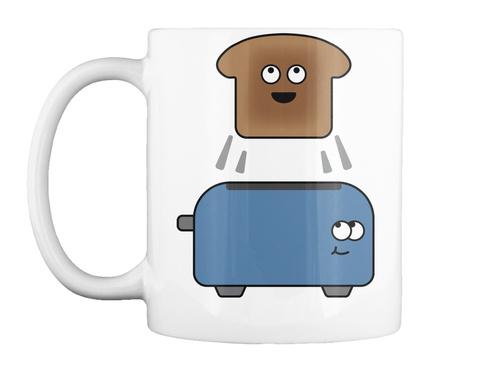 Toaster Guys Mug White Mug Front