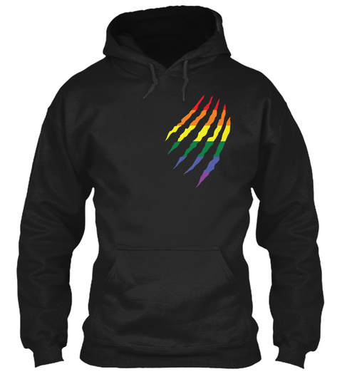 Lgbt Limited Edition Black T-Shirt Front