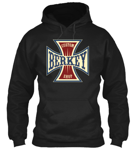 Berkey Custom Shop Black T-Shirt Front
