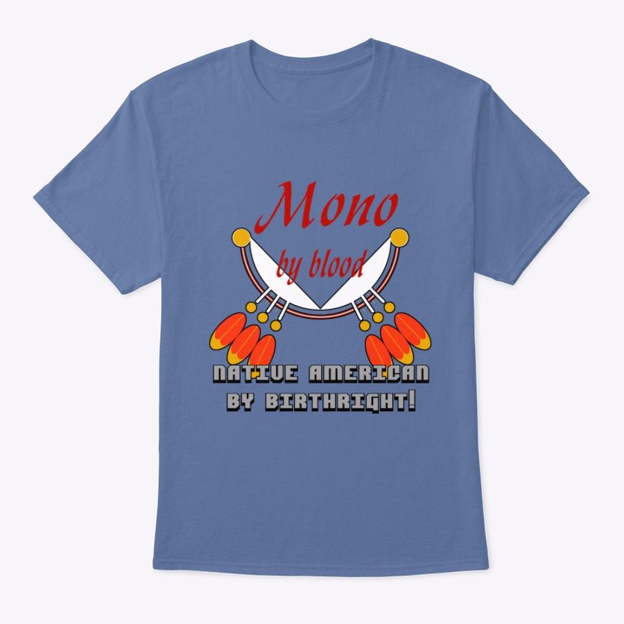 Mono Native American Unisex Tshirt