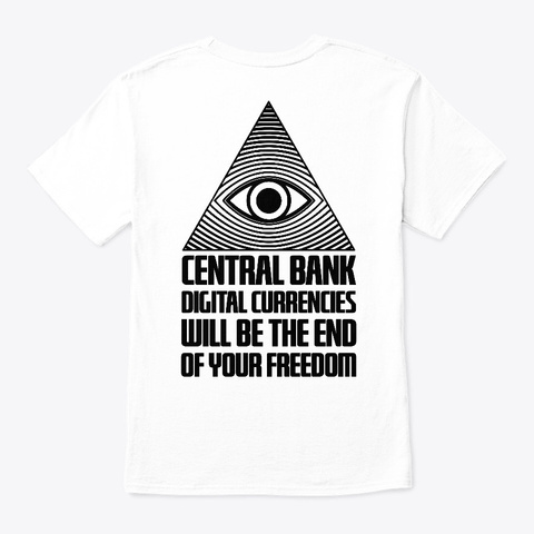 Thhetruthco.Com White T-Shirt Back